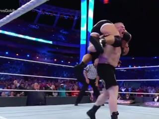 Wrestlemania 33 – Brock Lesnar VS Goldberg Universal Title Match!