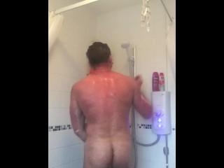 Shower Scene Big Cock