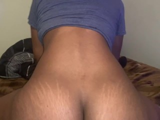 Juicy Booty made his FAT DICK BUST