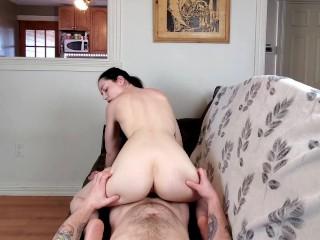 Step Daddy's Cum In My Pussy
