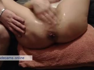 Couple enjoy wet orgasm squirt. Hot webcam show