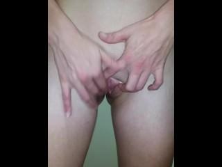 Yoga pants masturbating after gym. 18yo Teen