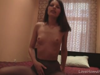 Teen in pantyhose loves to tease us