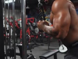 Muscle worship – Terron F Beckham