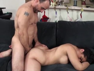 My step sister gets fucked!!!