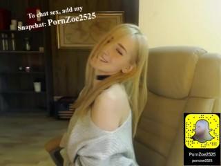 Teen creampie Live sex add Snapchat: PornZoe2525