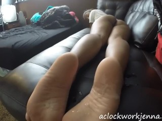 Cum On My 18 Year Old Soles