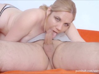 Sexy Girl Gives Oral Making Him No Hands Cum In Her Mouth