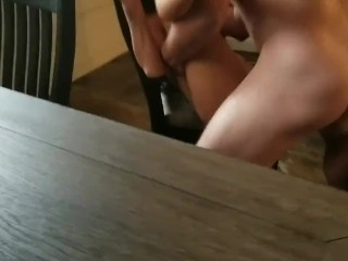 Slut girlfriend fucked by a big guy from bumble part 2