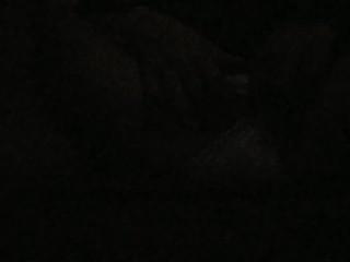 Hot teen fucks self on a dark room (first vid!)