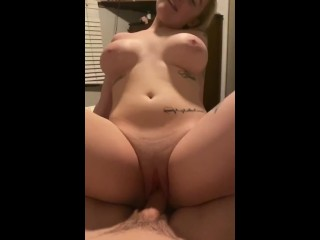 Busty Blonde From Tinder Loves the Camera