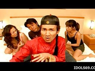 Hot Lisa insane cock sharing trio – More at hotajp.com