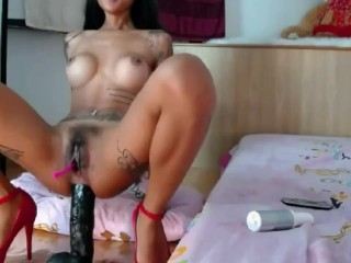 big dildo anal squirt