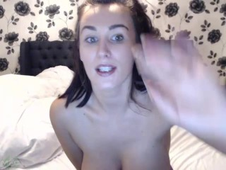 JERK OFF & CUM on this Whore's BIG DD TITS mfc Fap Tease