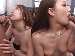 Uncensored JAV synchronized raw group sex party Subtitles