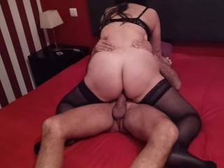 Wife fucked by a friend while husband films.