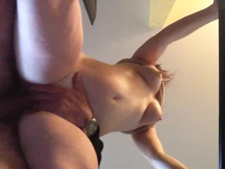LILY hot quickly with hubby