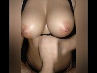 Titfuck #22 2k19 Titfuck and ends Handjob cum on tits POV