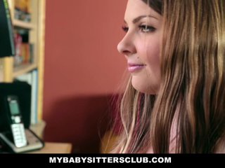 Young Babysitter Fantasizes About Boss
