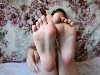 FEET SLAVE (JOI) teaser – MaryVincXXX