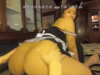 China-中国国产中文 台湾SWAG monlingwu 吴梦梦 女僕咖啡