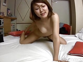 Hot oral for young Rui in need to reach orgasm