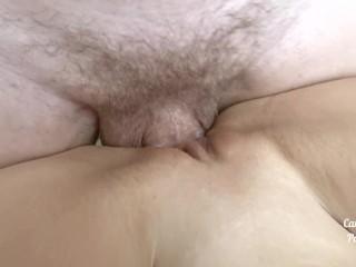 Please cum inside my creamy pussy Female POV