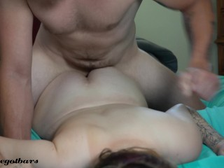 4K High School Goth girl gets fucked before class!