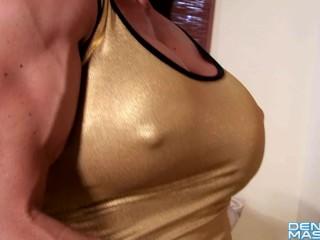 Denise Masino – Liquid Gold Love – Female Bodybuilder