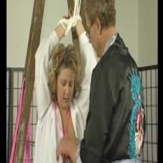 Busty milf getting tied up – Julia Reaves
