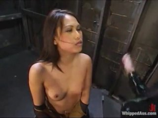 Asian Lesbian Ass Slave to White Girls