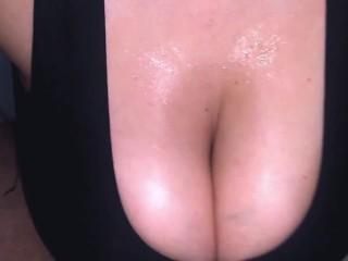 Cum Between My Big Natural Tits – Titfuck