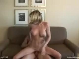 Serena Stevens Couch Orgasm