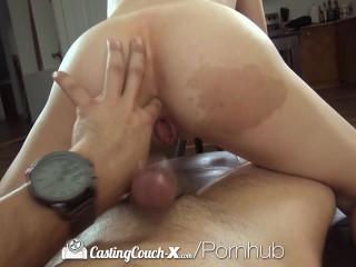 HD CastingCouch-X – Short cutie Natasha White shoots her first porn