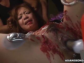Aya Amamiya likes it when it hurts during an orgasm