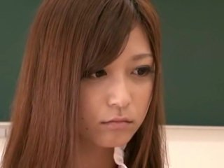 Asian Schoolgirl Makes Teacher Lesbian Pet Part 8