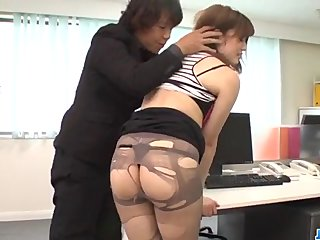 Yumi Maeda goes wild on cock while at the