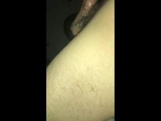 Whore deepthroats dick