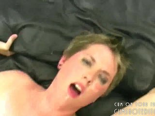 Submissive Young Slut Covered In Cum
