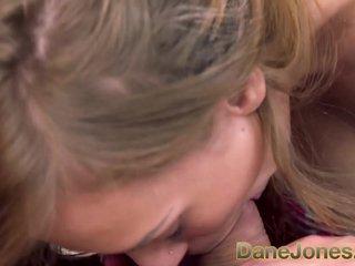 DaneJones Blonde bombshell loves to ride cock