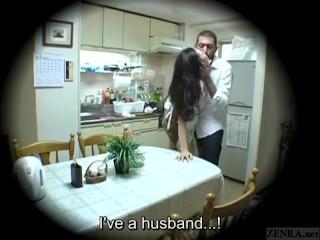 Subtitles Japanese homestay gone wrong blowjob