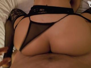 Black Lingerie Never Looked So Good – Young Amateur NoFaceGirl