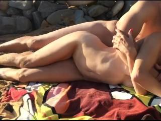Hardcore Sex On the Beach Hard Fuck Ex gf