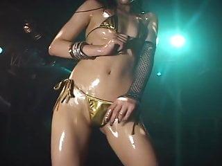 Japanese GO GO dancer Micro Bikini Yoko-Kaede
