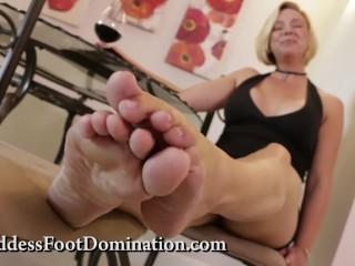 Eat Cum For My Feet Slave – CEI