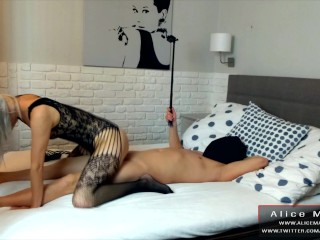 Sex From Selfie Stick! Blonde Teen Rides Me Amazing! Sexy BodyStocking!