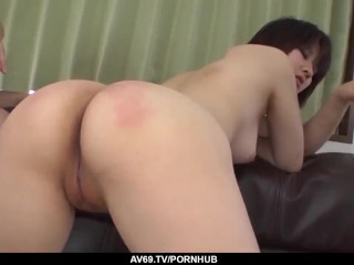 Ai Nashi lands a lot of dick in her tiny holes