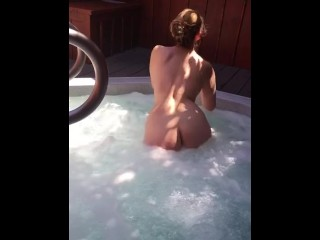 Wet and beautiful blonde – Spa day