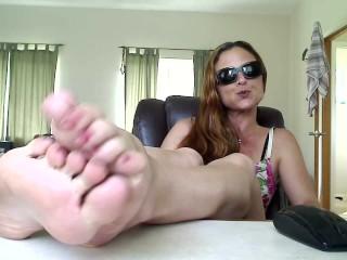 Feet on the table