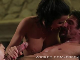 Wicked – Sexy threesome with some massage